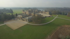 Aerial Panorama of Blenheim Palace Stock Footage