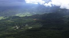Leaving Itataiai National Park Stock Footage
