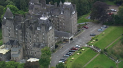 Atholl Palace Hotel, Pitlochry Stock Footage