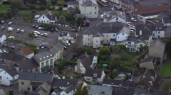 Colyton aerial Stock Footage