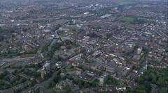 Taunton aerial Stock Footage