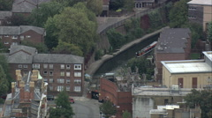 Regents Canal Near London Zoo Stock Footage