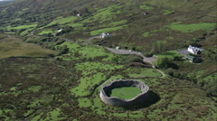 Staigue Fort Stock Footage