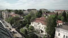 Italian Embassy - Sofia Bulgaria Stock Footage