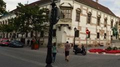 Matthias Church in Budapest. Stock Footage