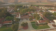 Scene establishing shot of California State University, Channel Islands Stock Footage