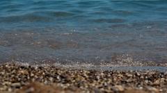 Quiet Summer Sea Stock Footage
