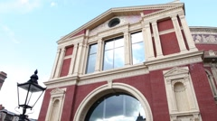 Royal Albert Hall in London Stock Footage