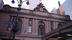 Grand central station in new york Arkistovideo