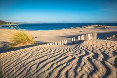 Dune of Punta Paloma, Tarifa, Andalusia, Spain Stock Photos