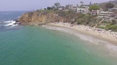 2.7K HD Laguna Beach, California Stock Footage