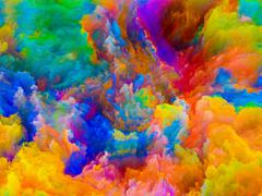 Our Digital Colors - stock illustration