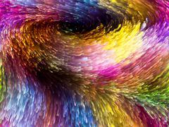 Burst Of Colors - stock illustration