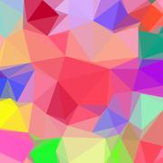 Abstract Low Poly Background Stock Illustration