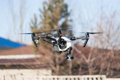 Drone flying Stock Photos