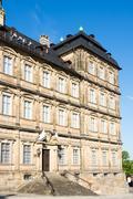 Facade of Neue Residenz in Bamberg Stock Photos