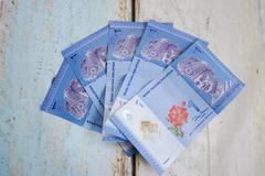 Malaysian ringgits Stock Photos