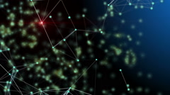 Abstract technology and science motion background Stock Footage