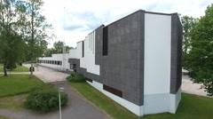 Alajärvi Town Hall Stock Footage