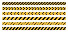 Police Line Tape - stock illustration