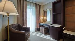 Interior of double bed room Kuvituskuvat