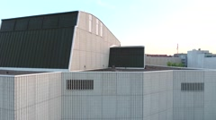 City Theatre in Jyväskylä Stock Footage