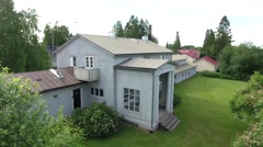 Villa Väinölä in Alajärvi Stock Footage