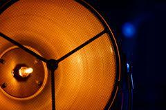 Stage light source closeup Stock Photos