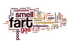 Fart word cloud concept Stock Illustration