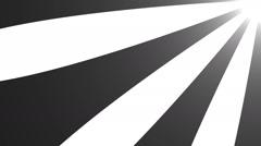Retro radial background. Seamless loop Stock Footage