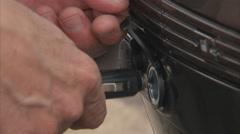 Car power socket Stock Footage