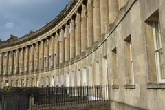 Royal Crescent Stock Photos