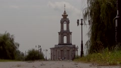 Christian Temple Stock Footage