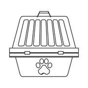 Pet first aid kit icon Stock Illustration