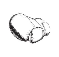 Glove icon. Boxing design. Vector graphic Stock Illustration
