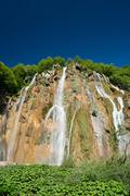 Plitvice lakes of Croatia - national park in summer Stock Photos