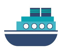 Motor boat icon Stock Illustration