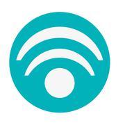 wifi signal icon - stock illustration