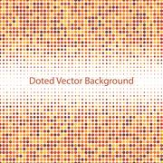 Abstract doted vector background Stock Illustration