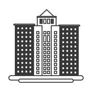 Tall building icon Stock Illustration