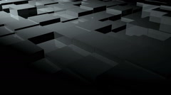 Cubic surface in motion Stock Footage