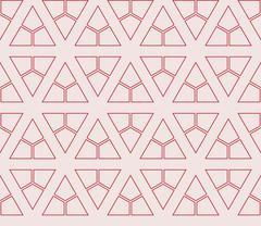 Seamless sophisticated geometric pattern based on repetitive simple forms Stock Illustration