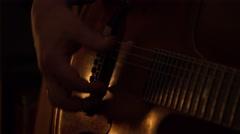 Night blues, Riga Stock Footage