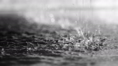 Close-up of the dripping water, in the sunlight Stock Footage