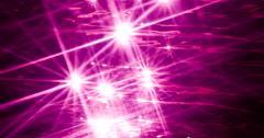 Deep Purple Sparkling Sunstars Liquid Crystal Abstract Slowmo Stock Footage