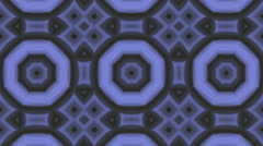 Seamless loop animation kaleidoscope Stock Footage