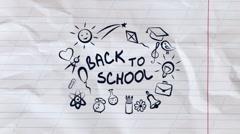 Back To School - Logo and Titles Kuvapankki erikoistehosteet