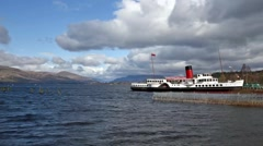 Loch Lomond Maid - stock footage