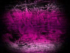 Pink gradient and black old wood texture background Stock Photos