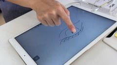 New Apple iPad Pro  sales in Vietnam Stock Footage